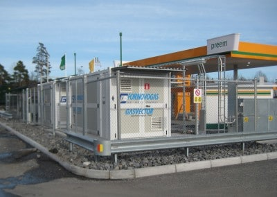 optimized natural gas refueling solution